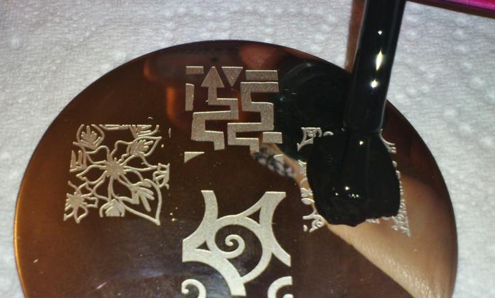 Nail Art Stamping - La Revue de Sam