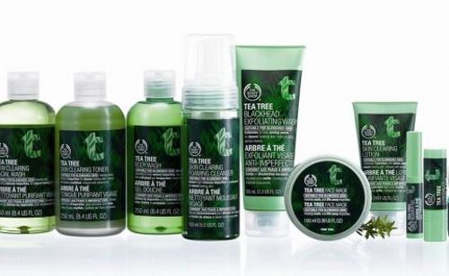 The Body Shop - Gamme Tea Tree