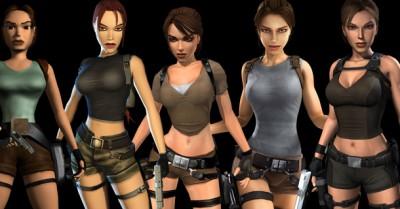 Pour info, voici l'évolution du personnage Lara Croft au fil des années :)