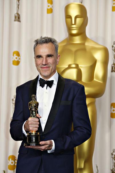 Daniel Day-Lewis avec le 3ème Oscar de sa carrière ! *__*