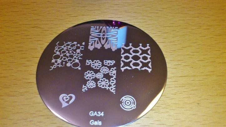plaque de stamping gals GA34 - la revue de sam