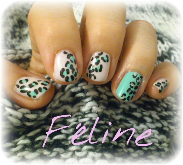 manucure- léopard-nail-art-facile-simple-félin-ciaté-la-revue-de-sam