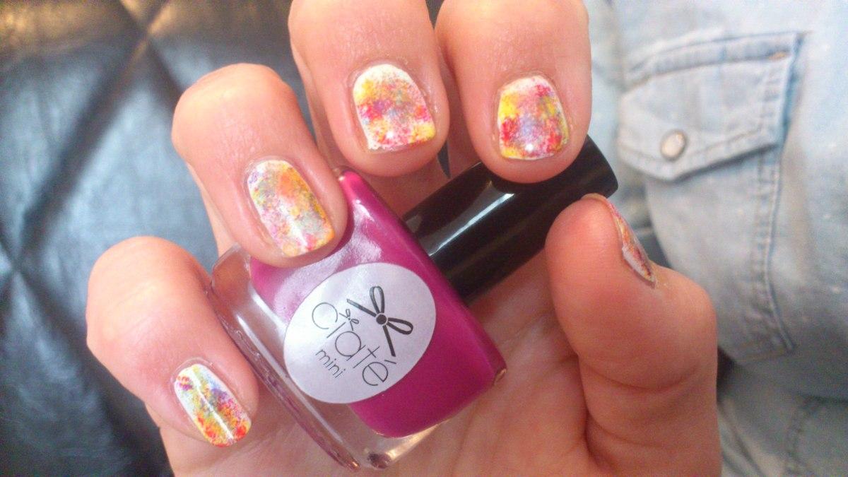 Nailstorming #49 - Holi Nails ou la Fête des couleurs indienne !