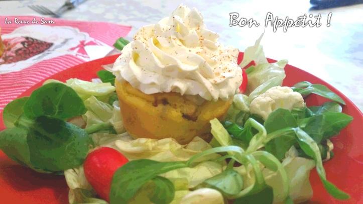 cupcake-salé-chorizo-parmesan-fromage-été-recette-facile