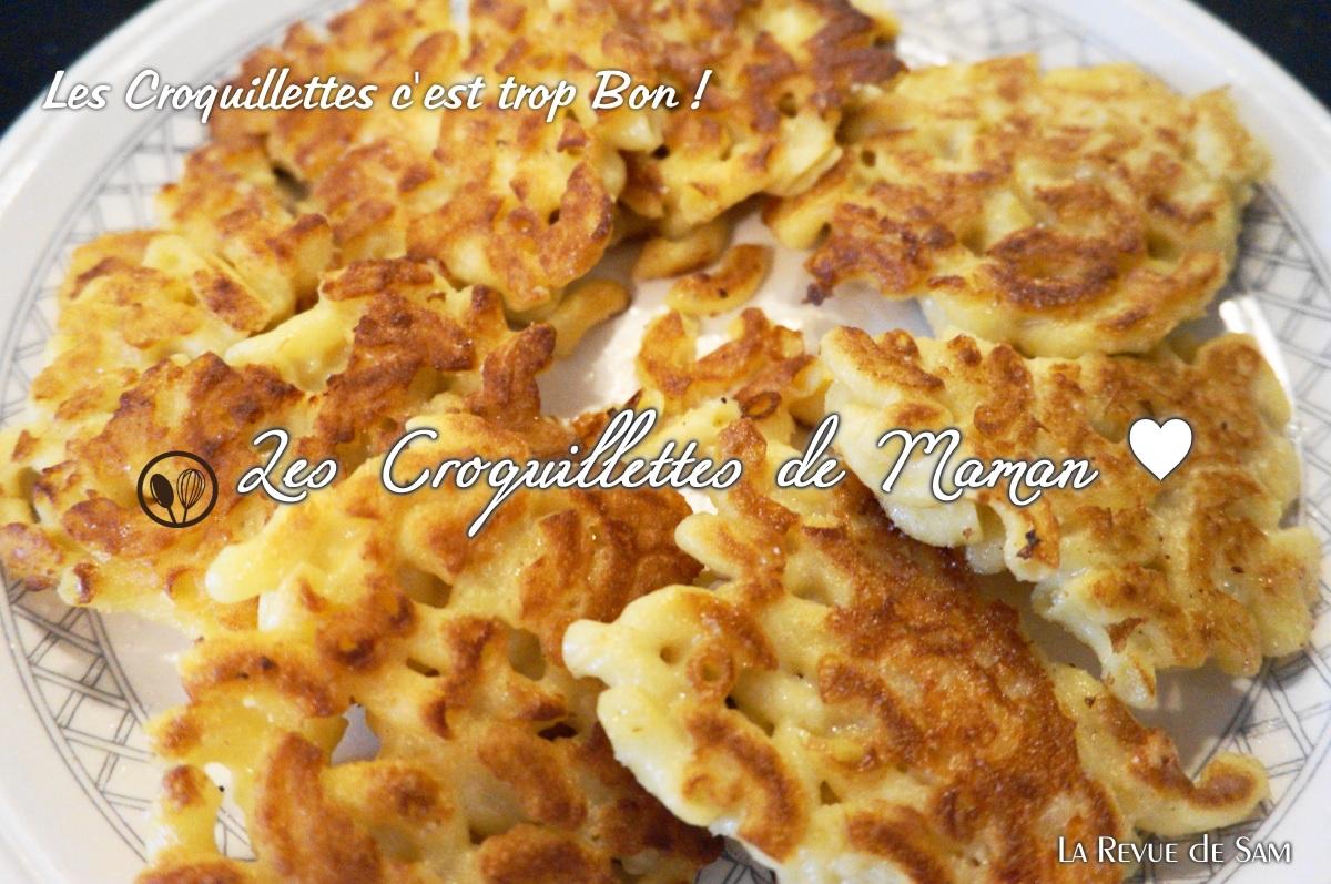 RECETTE Vide-Frigo ♥ Les Croquillettes de Maman ♥