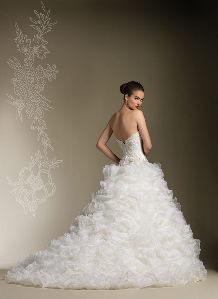 robe-de-mariée-idée-vagues-bustier