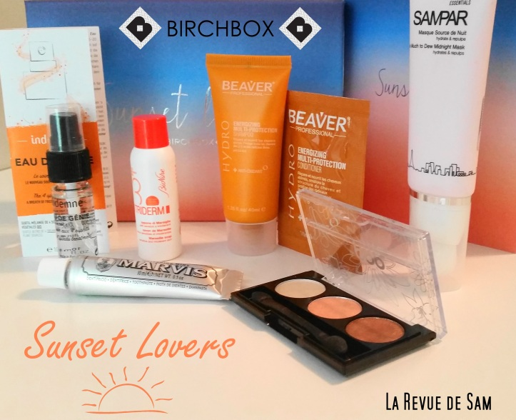 Sunset-lovers-birchbox-juillet-2015-été