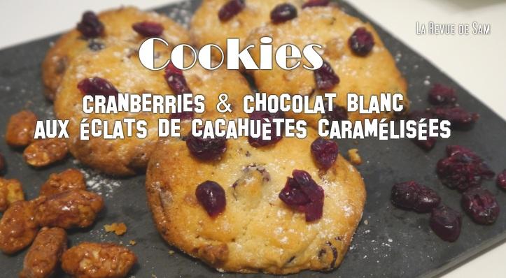 cookies-cranberries-chocolat-blanc-cacahuètes
