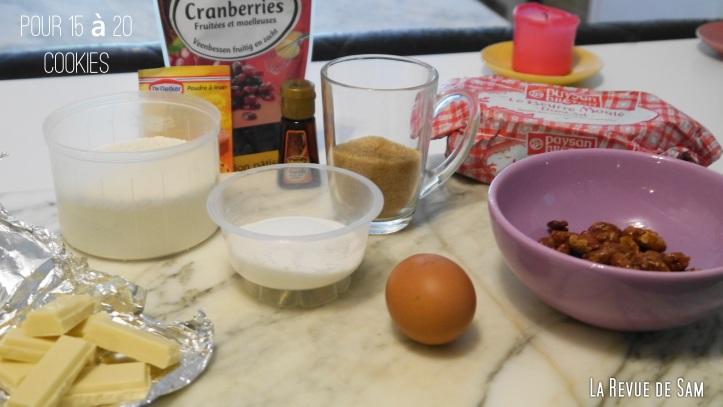 ingredients-cookies-recette-américaine
