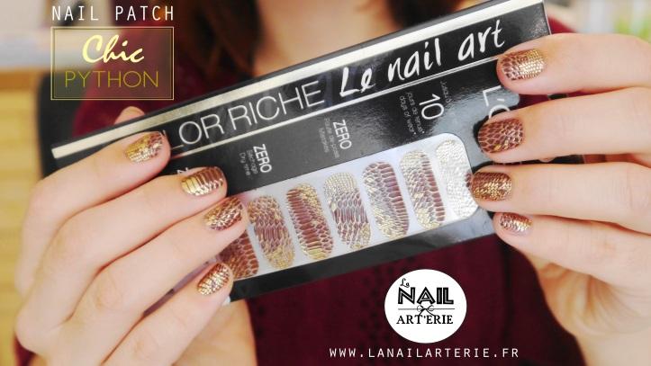 chic-python-croco-nail-art-patch-doré-color-riche.-lanailarterie-nailpatch