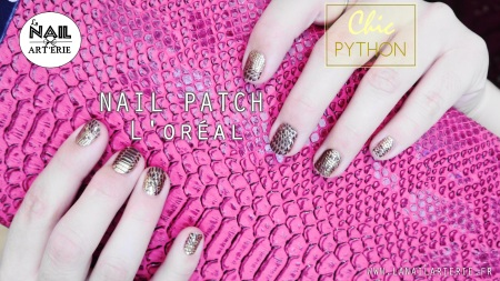 chic-python-croco-nail-art-patch-doré-lanailarterie-nailpatch-nailstorming