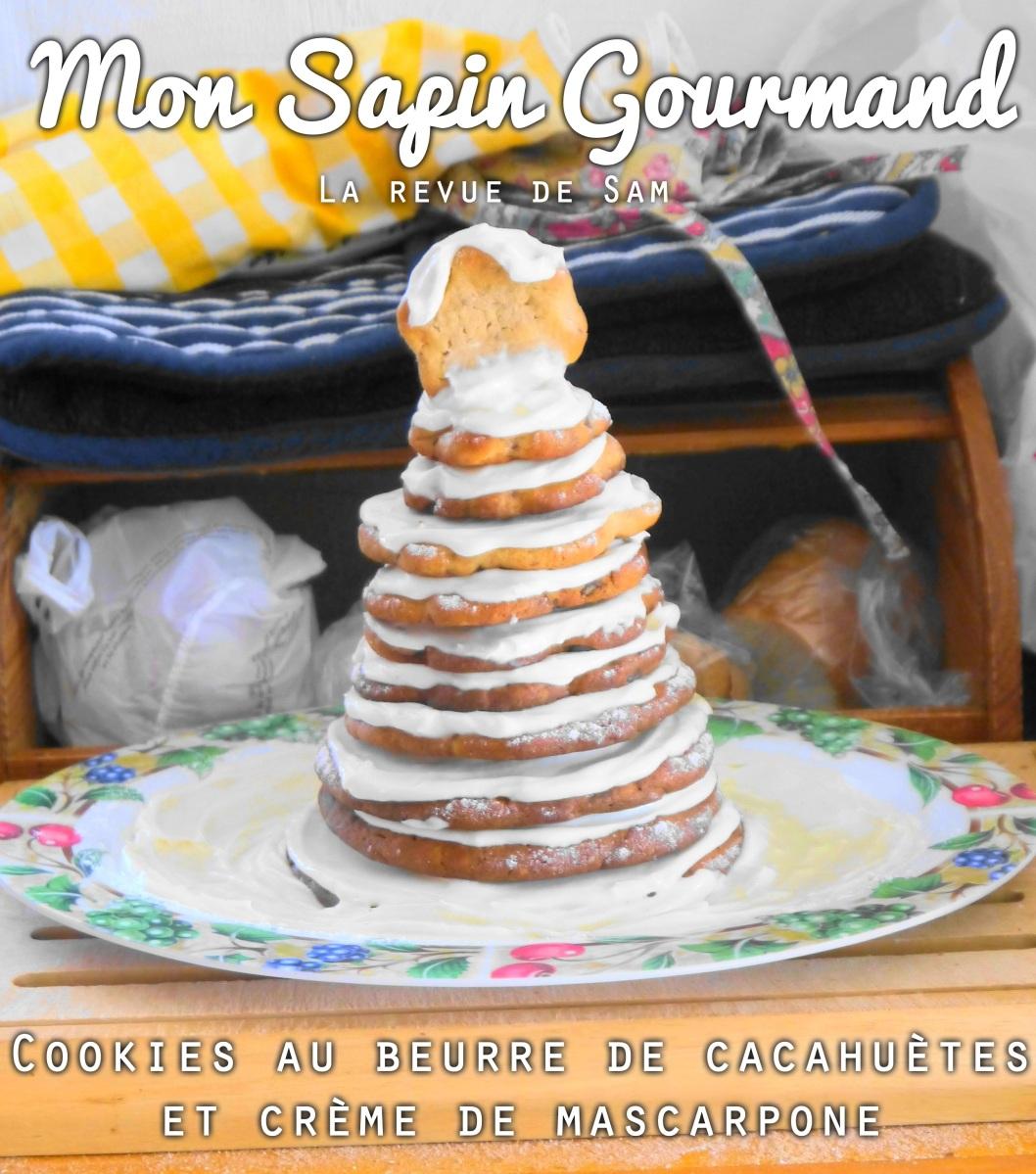 Un Goûter Enneigé | Cookies au beurre de cacahuète & pépites de Chocolat au Lait