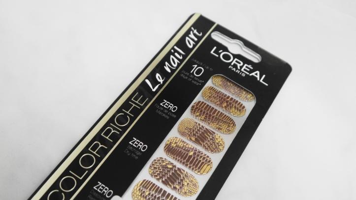 chic-python-croco-nail-art-patch-doré-loreal-color-riche.-lanailarterie-nailpatch